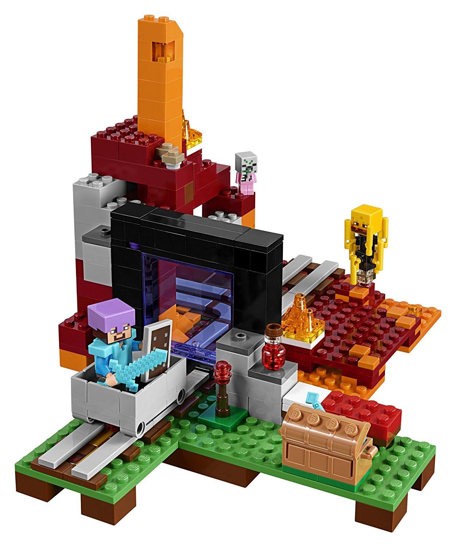 Lego 21143 Minecraft Portal Do Netheru Gry I Zabawki