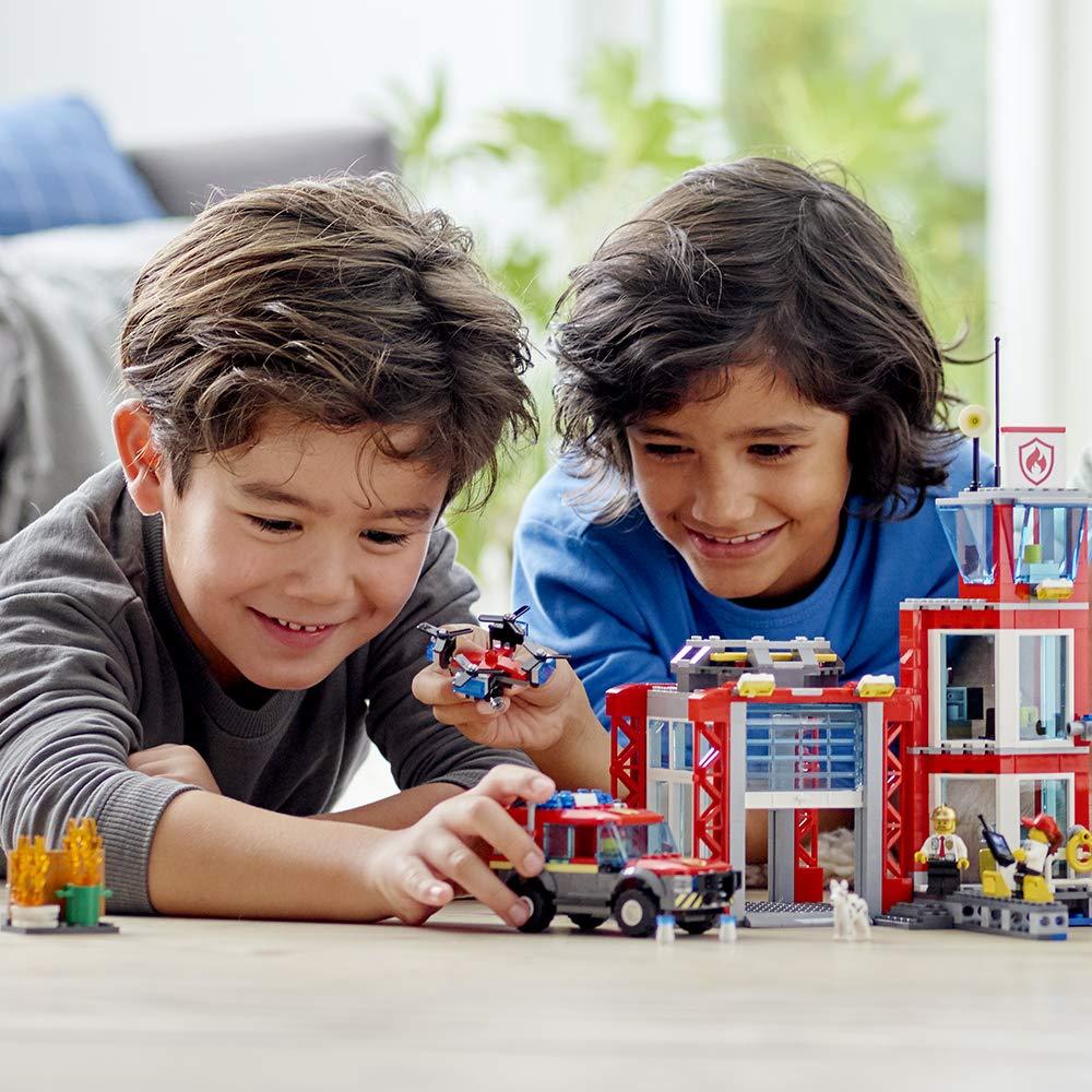 Lego 60215 City Remiza Strażacka Gry I Zabawki