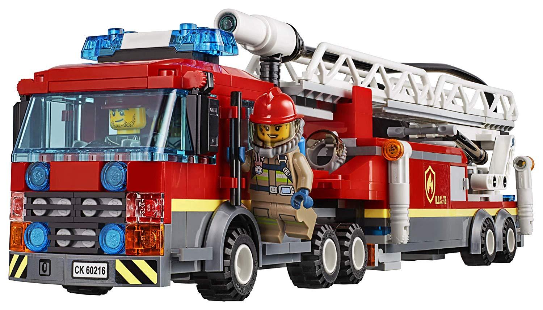 Lego 60216 City Straż Pożarna W śr 243 Dmieściu Gry I Zabawki